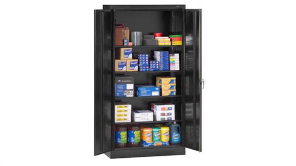 """Storage Cabinets Tennsco 72""""H x 24""""D Standard Storage Cabinet"""