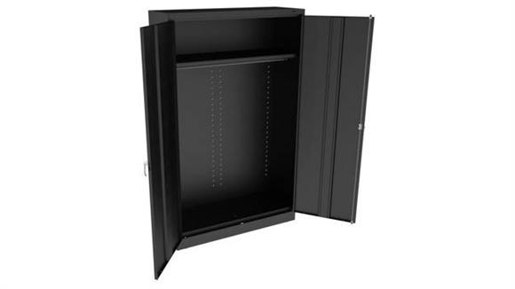 "Storage Cabinets Tennsco 78""H x 24""D Jumbo Wardrobe Cabinet"