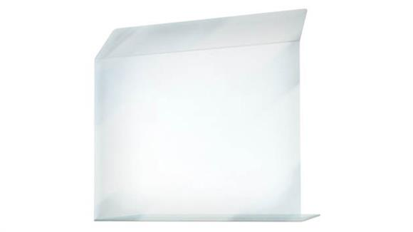 """Covid19 Office Sneeze Guards United Visual 24"""" W x 24""""H Bent Shield"""