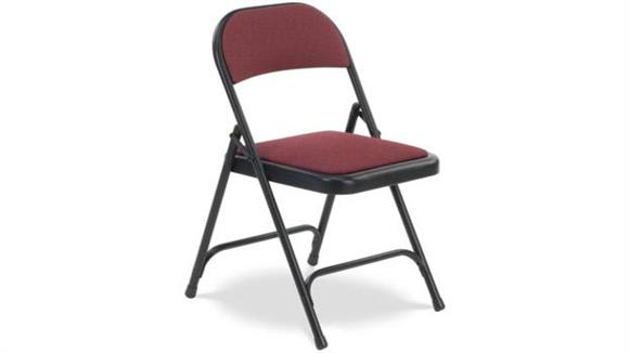 Folding Chairs Virco Fabric Upholstered Folding Chair