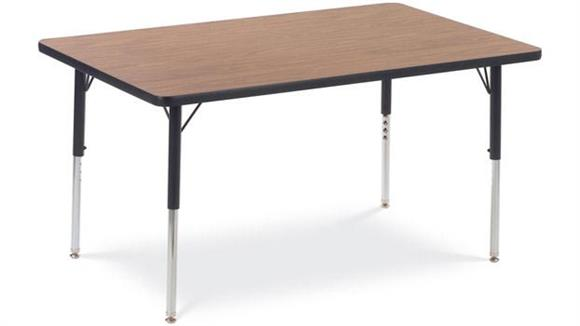 "Activity Tables Virco 60"" x 24"" Activity Table"