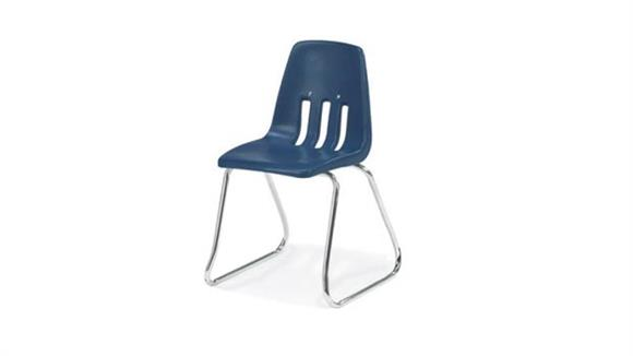 "Stacking Chairs Virco 14"" Sled Base Stack Chair"