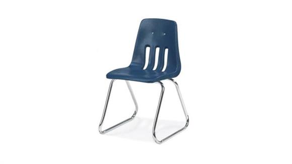 "Stacking Chairs Virco 16"" Sled Base Stack Chair"
