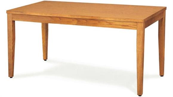 "Library Tables Virco 60"" x 30"" Library Table"