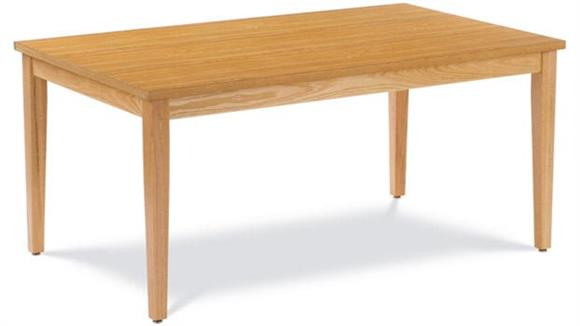"Library Tables Virco 60"" x 36"" Library Table"