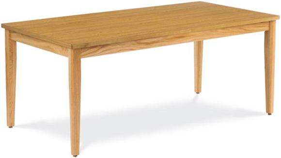 "Library Tables Virco 72"" x 36"" Library Table"