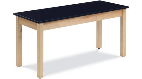 "Science & Lab Tables Virco 54"" x 24"" Science Table with ChemSurf Top"