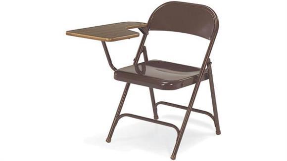 Folding Chairs Virco Folding Tablet Arm Chair
