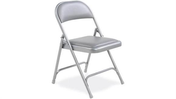 Folding Chairs Virco Vinyl Upholstered Folding Chair