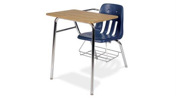 School Desks Virco Chair Desk with Bookrack