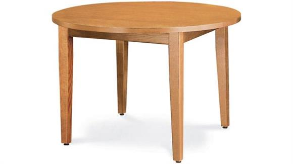 """Library Tables Virco 48"""" Round Library Table"""
