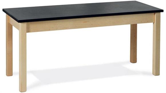 """Science & Lab Tables Virco 60"""" x 24"""" Science Table with ChemSurf Top"""