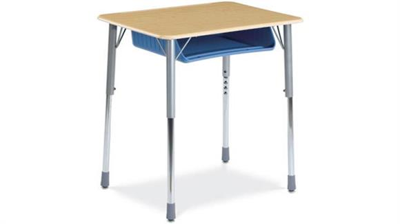 School Desks Virco Adjustable Height Student Desk