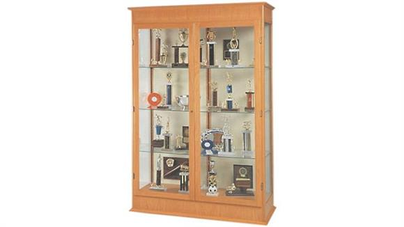 Display Cabinets Waddell Display Cabinet with Hinged Doors