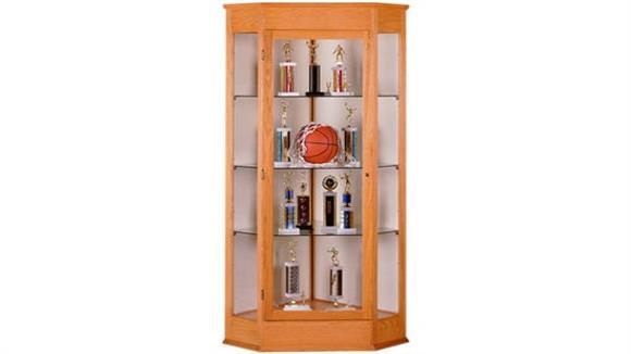 Display Cabinets Waddell Corner Display Cabinet