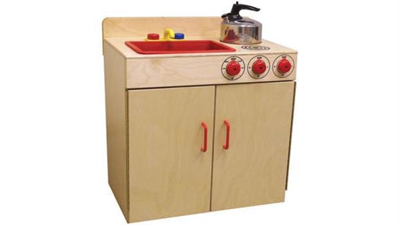 Activity & Play Wood Designs Combination Sink & Range