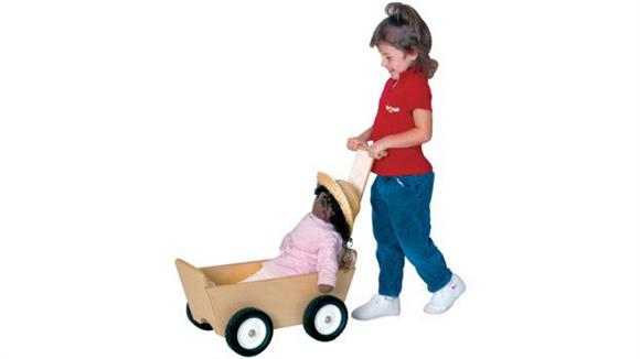 Activity & Play Wood Designs Doll Carriage