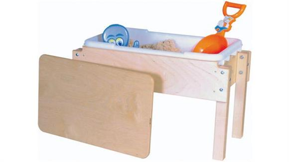 Activity & Play Wood Designs Petite Tot Sand & Water/Sensory Table