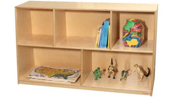 Storage Cubes & Cubbies Wood Designs Tip-Me-Not 30inH Single Storage Unit