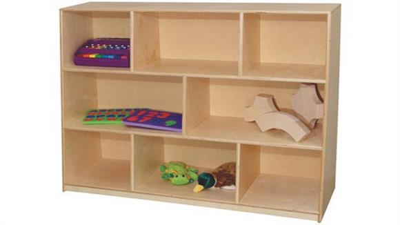 Storage Cubes & Cubbies Wood Designs Tip-Me-Not 36inH Single Storage Unit