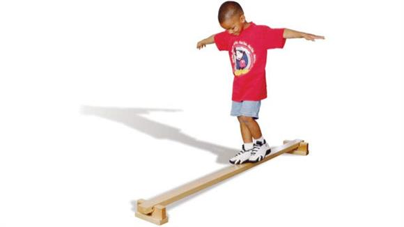 Activity & Play Wood Designs Balance Beam