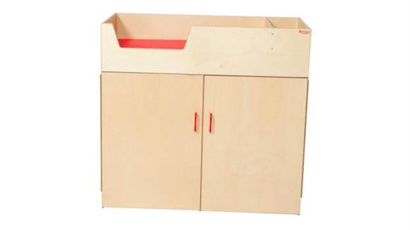 Changing Tables Wood Designs Deluxe Infant Care Center