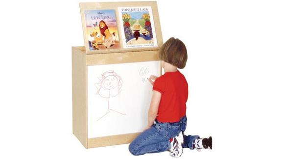 White Boards & Marker Boards Wood Designs Big Book Display & Storage
