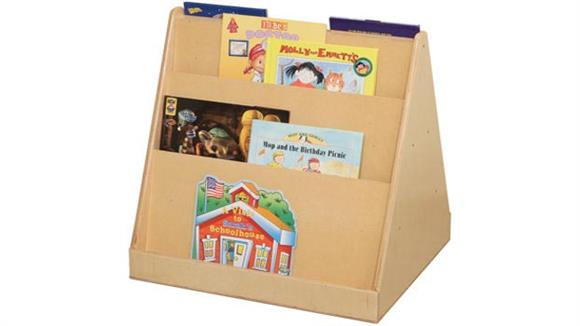 Bookcases Wood Designs Tot-Size 2-Sided Book Display