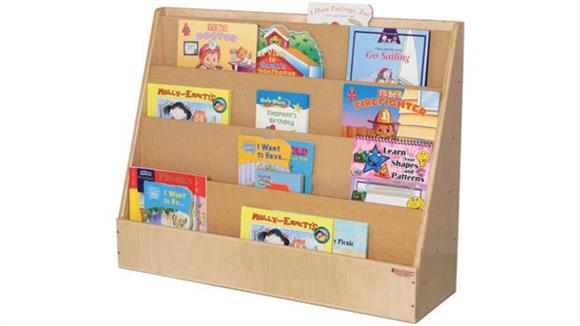 Bookcases Wood Designs Book Display Stand