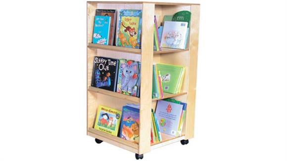 Book & Library Carts Wood Designs Library & Display Center