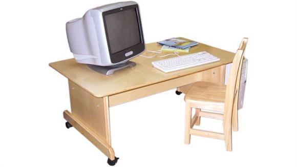 Computer Tables Wood Designs Adjustable Height Computer Table