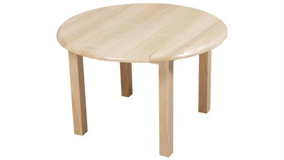 """End Tables Wood Designs 30"""" Round Table"""
