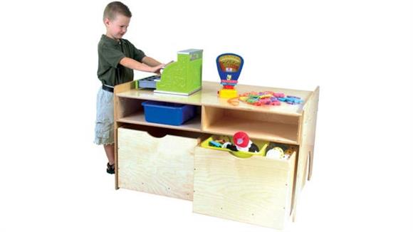 Game Tables Wood Designs Store-N-Play Table