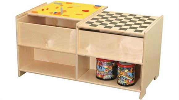 Game Tables Wood Designs Build-N-Play Table