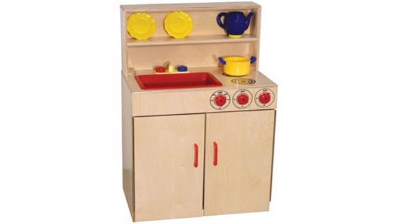 Activity & Play Wood Designs 3-N-1 Kitchen Center