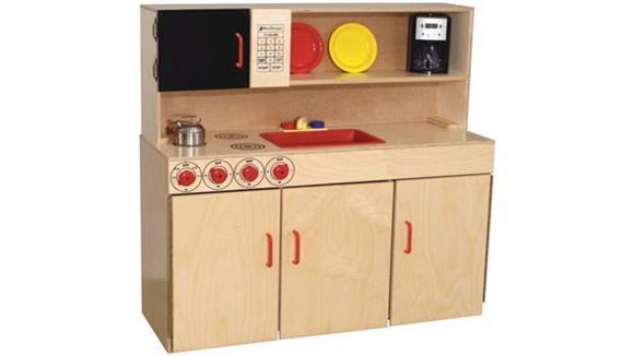 Activity & Play Wood Designs 5-N-1 Kitchen Center