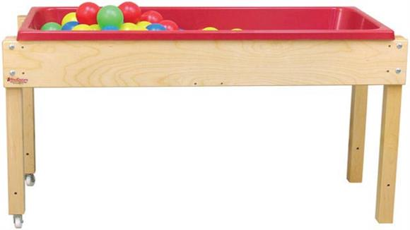 Activity & Play Wood Designs Sand & Water Table