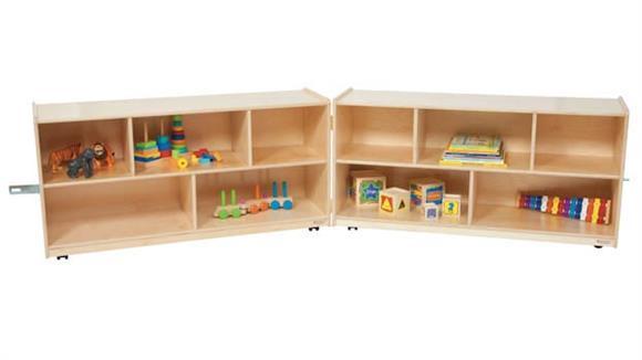 Storage Cubes & Cubbies Wood Designs 24inH Folding Storage Unit