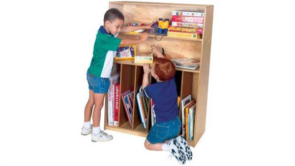 Storage Cubes & Cubbies Wood Designs Tip-Me-Not Multi-Purpose Bookcase
