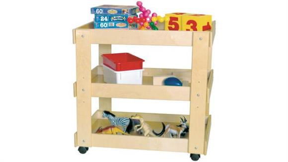 Storage Cabinets Wood Designs Utility Cart