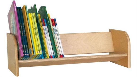 Shelving Wood Designs Book Display Rack
