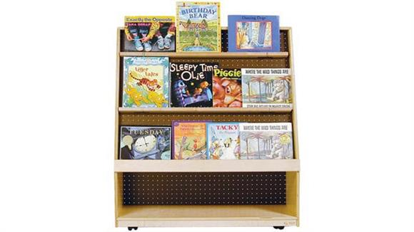 Book & Library Carts Wood Designs Mobile Library