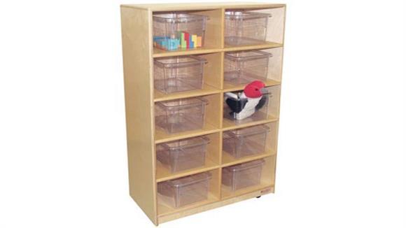 Storage Cubes & Cubbies Wood Designs 10-Tray Storage