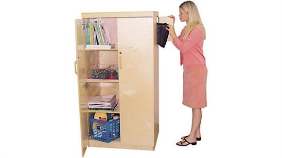 Storage Cabinets Wood Designs Teachers Lock-It-Up Cabinet