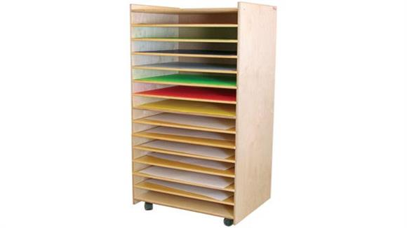 Storage Cabinets Wood Designs Puzzles, Paper & Game Rack