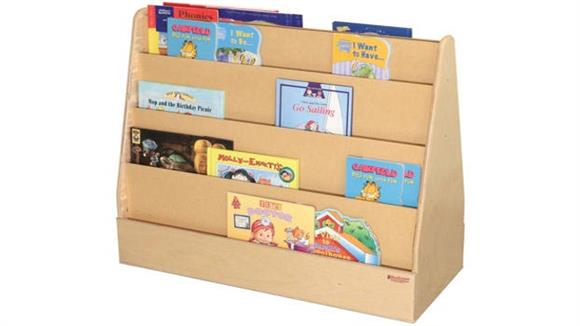 Bookcases Wood Designs Double-Sided Book Display