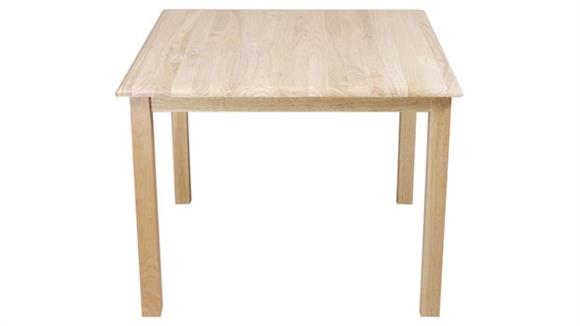 """End Tables Wood Designs 24"""" x 24"""" Square Table"""
