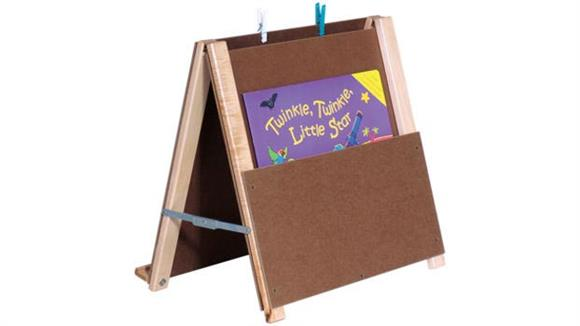 Activity & Play Wood Designs Big Book Tabletop Easel