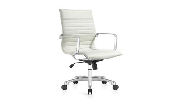 Office Chairs Woodstock Mid Back Leather Chair
