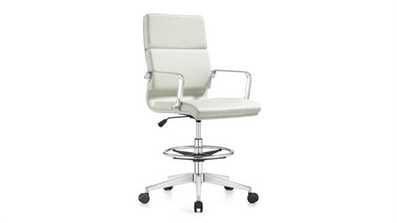 Office Chairs Woodstock Leather Swivel Stool
